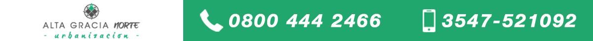 numeros telefonicos - Alta Gracia Norte2